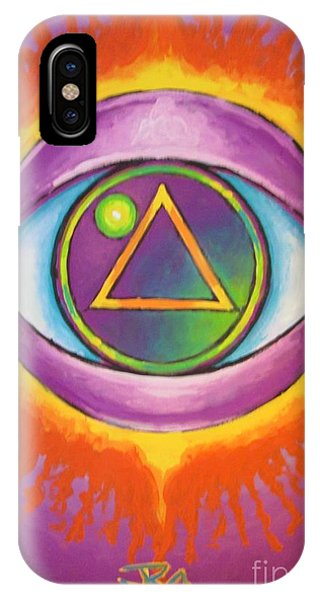 All Seeing Eye Phone Case by Jedidiah Morley