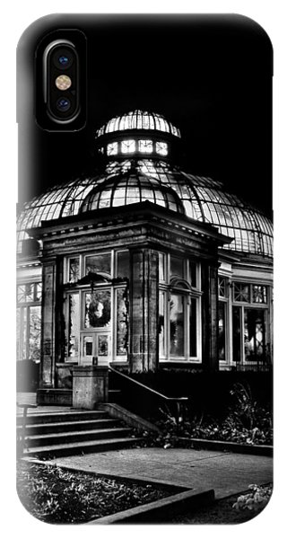 IPhone Case featuring the photograph Allan Gardens Conservatory Palm House Toronto Canada by Brian Carson