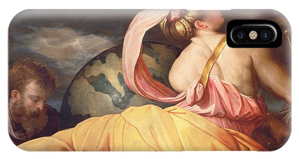 Allegory Of Geography IPhone Case