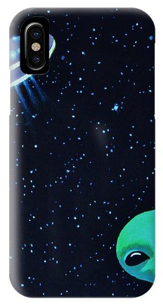 Allen The Alien 2 IPhone Case