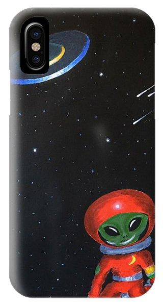 Allen The Alien IPhone Case