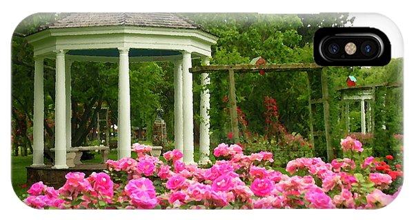 Allentown Pa Gross Memorial Rose Gardens IPhone Case