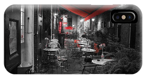 Alley Cafe IPhone Case