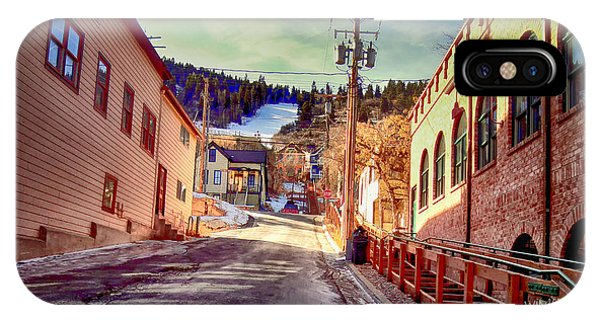 Alley In Park City IPhone Case