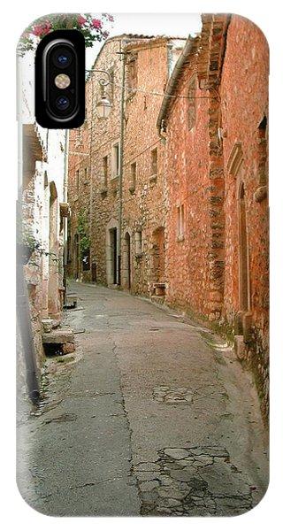 Alley In Tourrette-sur-loup IPhone Case