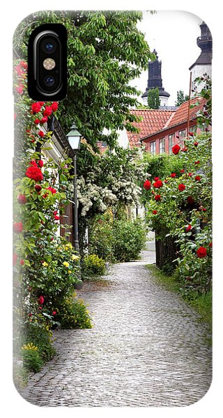 Alley Of Roses IPhone Case