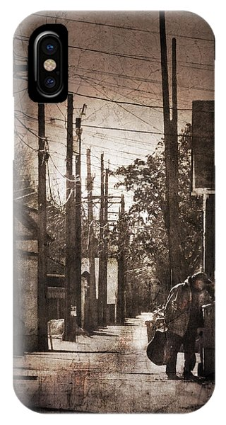 Alley Shopping IPhone Case