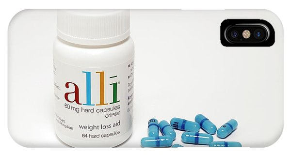 Controversial iPhone Case - Alli Weight-loss Drug by Victor De Schwanberg