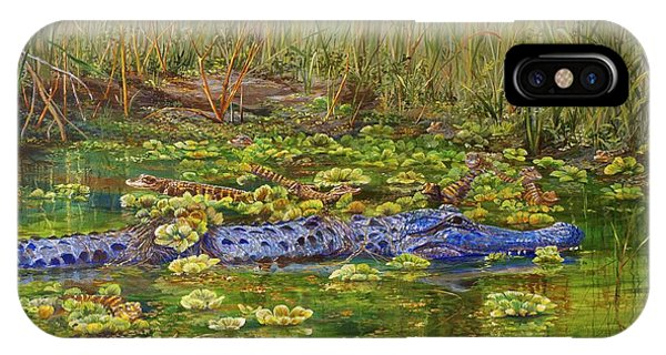 Alligator Pod IPhone Case