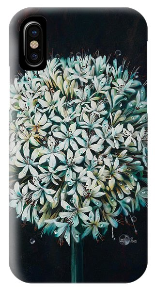 Fantasy Realistic Still Life iPhone Case - Allium by Lynette Yencho