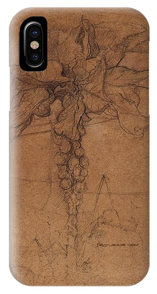 Organic iPhone Case - Allotment Study  by David Ladmore