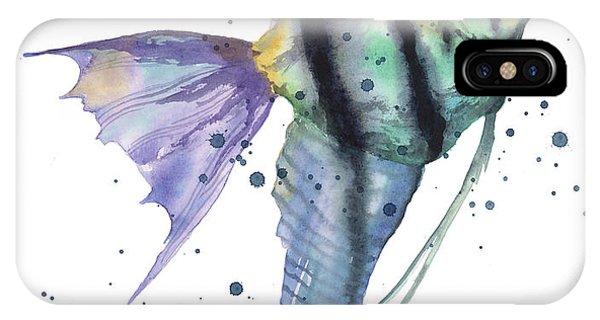 Alluring Angelfish IPhone Case