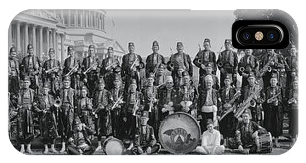 Capitol Building iPhone Case - Almas Temple Band Washington Dc by Fred Schutz Collection