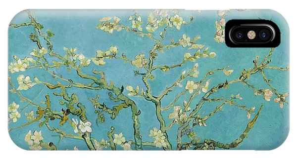 Van Gogh Museum iPhone Case - Almond Blossom by Vincent van Gogh