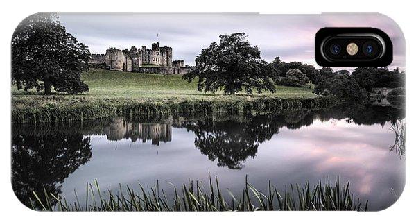 Alnwick Castle Sunset IPhone Case