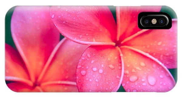 Aloha Hawaii Kalama O Nei Pink Tropical Plumeria IPhone Case