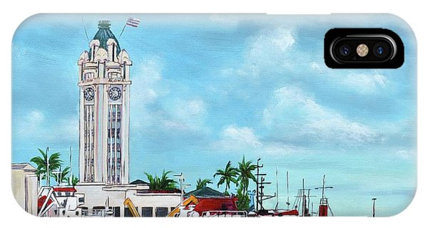 Aloha Tower IPhone Case