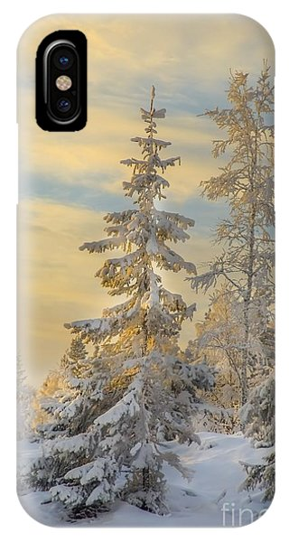 Alone But Strong IPhone Case
