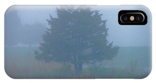 Alone In The Fog IPhone Case