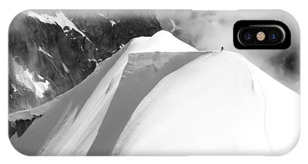 Men iPhone Case - Alone by Matej Sokol