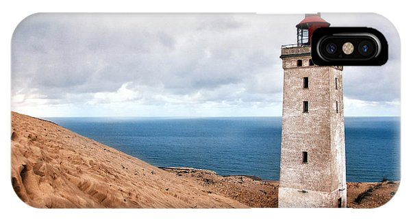 Lighthouse On The Sand Hils IPhone Case