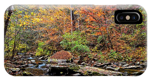Along Fall Creek IPhone Case
