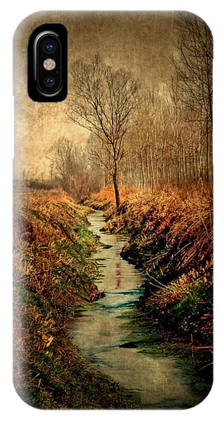 Along The Canal IPhone Case