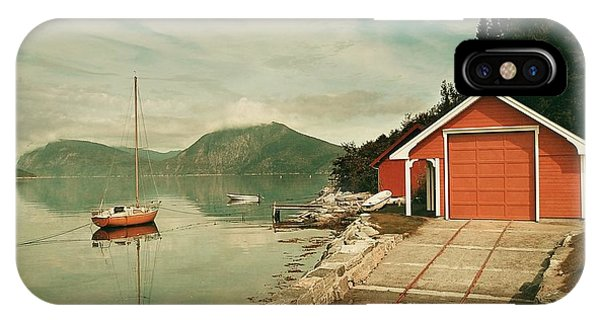Along The Fjord IPhone Case