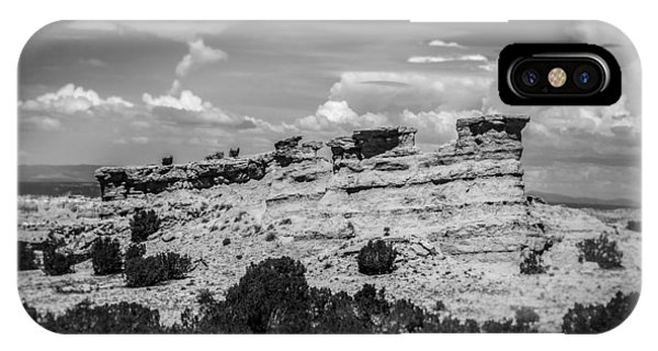 Along The High Road To Taos IPhone Case