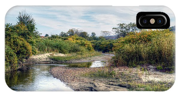 Along The Little River - Stowe Vermont IPhone Case