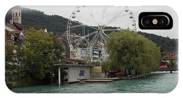Along The River In Thun IPhone Case