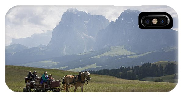 Alpe Di Siusi IPhone Case