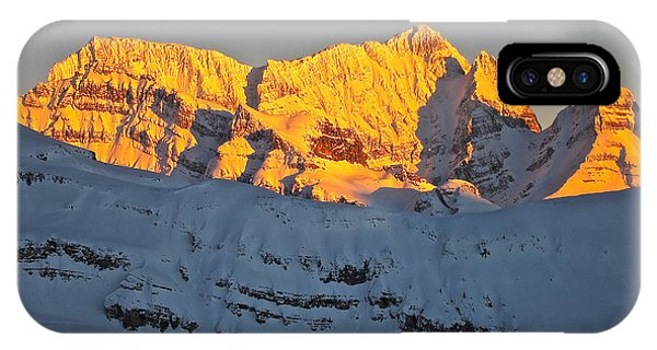 Alpenglow In Canada IPhone Case