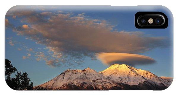 Alpenglow Lenticular Phone Case by Jeff Leland