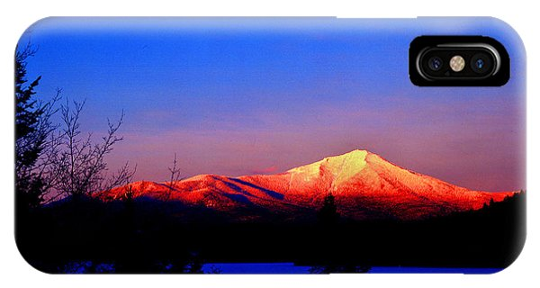Alpenglow-whiteface Mt. IPhone Case