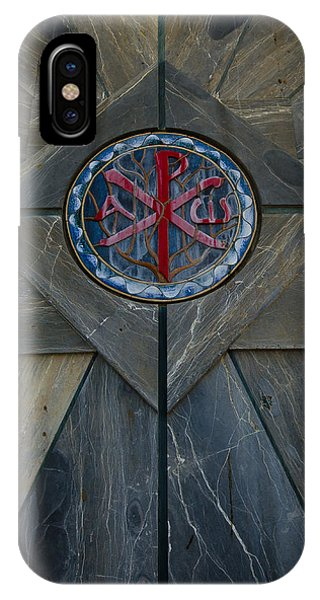 Alpha And Omega Chi Rho IPhone Case