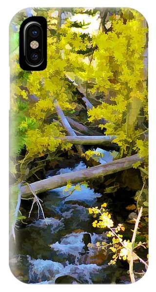 Alpine Creek  IPhone Case