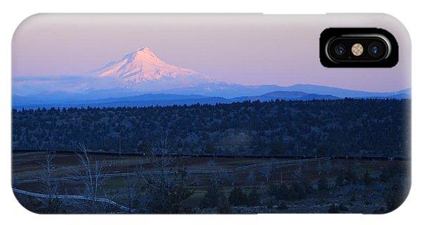 Alpine Glow On Mt. Hood IPhone Case