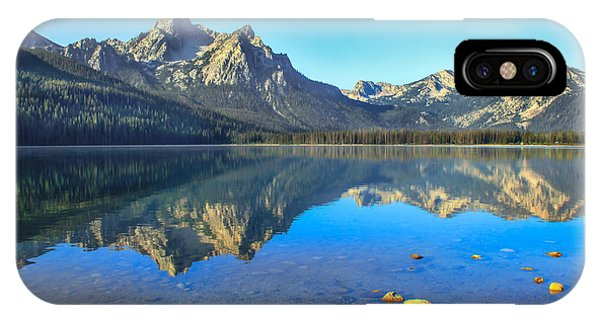 Rocky Mountain iPhone Case - Alpine Lake Reflections by Robert Bales
