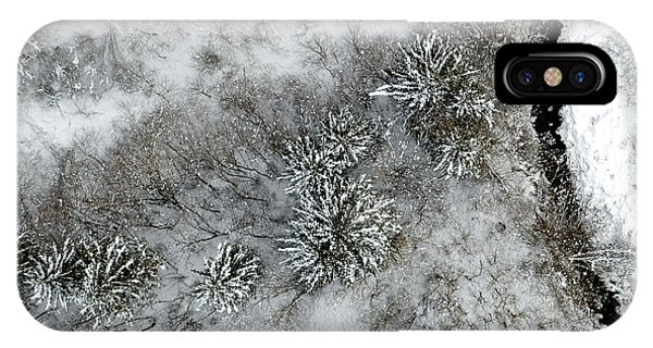 Alpine Snow Trees Phone Case by Stephen Richards