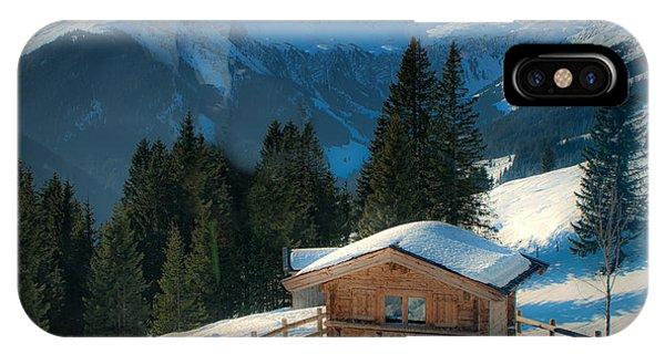 Alpine View IPhone Case