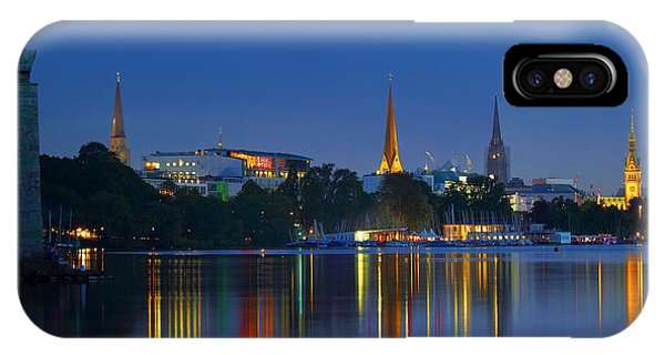 Alster Lights IPhone Case