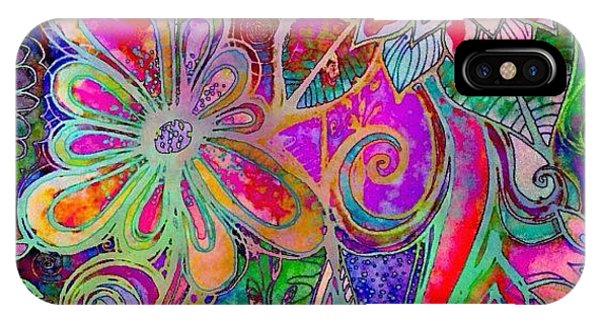 Watercolor iPhone Case - Altered My #watercolor On #ipadart ...i by Robin Mead