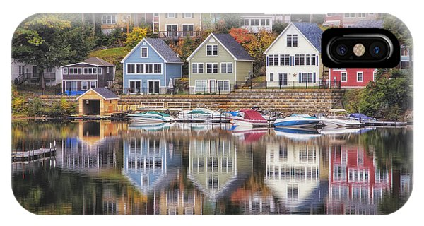 Alton Bay Houses IPhone Case