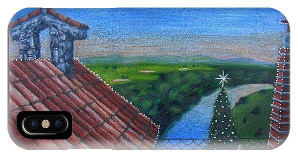 Feliz Navidad De Altos De Chavon IPhone Case