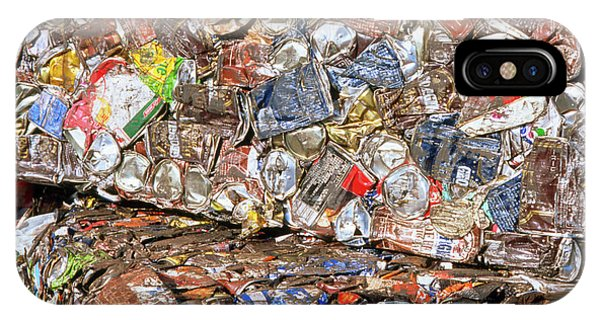 Aluminium Cans For Recycling Phone Case by Alex Bartel/science Photo Library