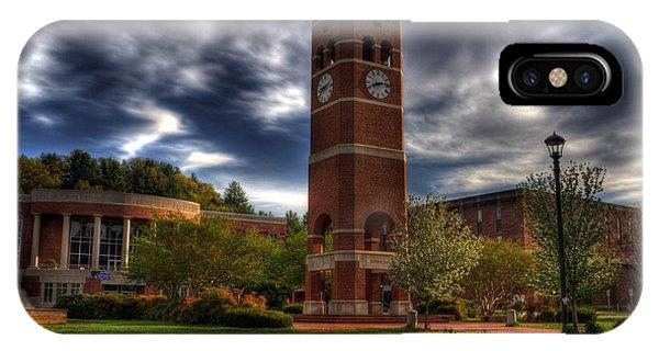 Alumni Tower-wcu IPhone Case