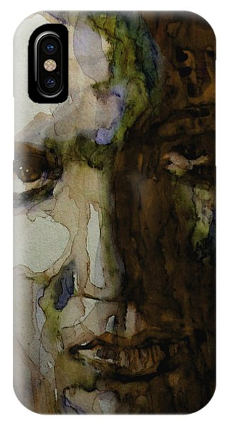 Singer iPhone Case - Always On My Mind by Paul Lovering