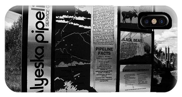 Alyeska Pipeline IPhone Case