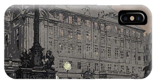 Am Hof Vienna 1904 IPhone Case